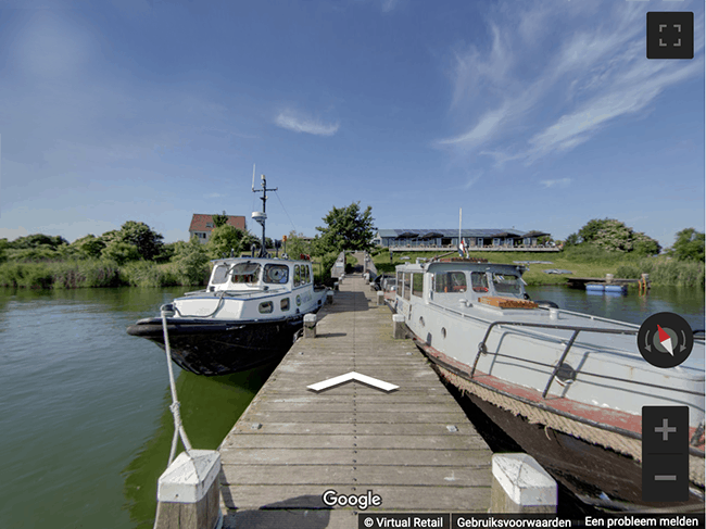 Google streetview Forteiland Pampus